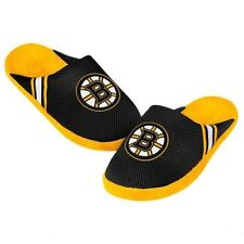 NHL Forever Collectibles 2014 Jersey Slide Slippers Boston Bruins NEW