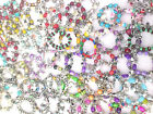 Wholesale Job Lot of Designer Assorted Charm,Turkish, Jesus Bracelets - Free P&P