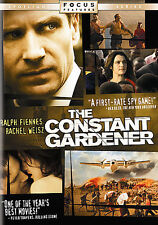 The Constant Gardener DVD Anamorphic Widescreen No Reserve Free Shipping!