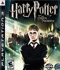 Playstation 3 PS3 Harry Potter and the Order of the Phoenix poter