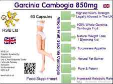 30 Garcinia Cambogia Whole Fruit Powder -Weight loss,diet, slimming HSIB Ltd