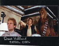 DAVE HOLLAND Signed 10x8 Photo STAR WARS Rebel Crew  COA