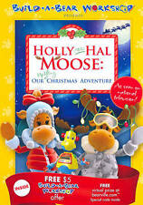 Holly and Hal Moose: Our Uplifting Christmas Adventure DVD 2011 Build a Bear New