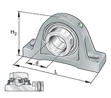 RSAO50 INA Housing and Bearing (assembly)