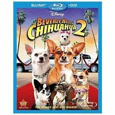 New Authentic Disney Beverly Hills Chihuahua 2 (Blu-ray/DVD, 2011, 2-Disc Set)