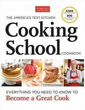 The America's Test Kitchen Cooking School Cookbook, , Good Book