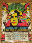 Robert Plant - Sensational Space Shifters - Aus Tour Poster 2013 - Led Zeppelin