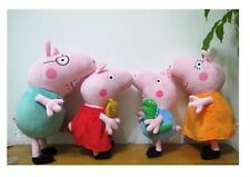 Peppa Pig Family Soft Plush Dolls Kids Toys Gift !UK SELLER! Peppa and George