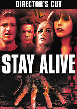 """HORROR """"STAY ALIVE"""" UNRATED, DIRECTORs CUT - FRANKIE MUNIZ - FREE SHIPPING"""
