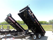 PJ 16' HEAVY DUTY DUMP TRAILER #1 DUMP *WINTER BLOWOUT SALE* MEGA SAVINGS @ DR