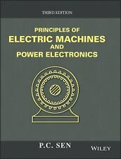 NEW - Principles of Electric Machines and Power Electronics by Sen, P. C.