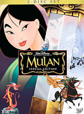 Disney Mulan (DVD, 2004, 2-Disc Set, Special Edition) Looks New With Inserts