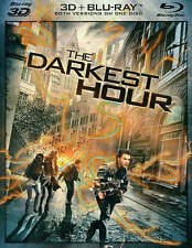 The DARKEST HOUR 3D Blu-Ray (A) Like New, Sealed! With Slip Cover