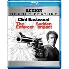The Enforcer / Sudden Impact (1976/1983) BRAND New Blu-ray Clint Eastwood