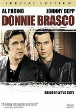 Donnie Brasco (DVD, Special Collector's Edition) Pacino & Depp   $2 MOVIE TIME!!