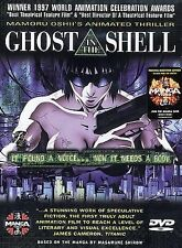 Ghost in the Shell (DVD, 1998, Original Japanese; Dubbed and Subtitled English)