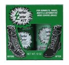 Leather Luster Kit Hi Gloss Patent Leather Finish Black