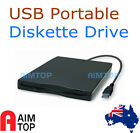 "External USB 3.5"" Portable Diskette Floppy Disk Drive FDD for Netbook Laptop PC"