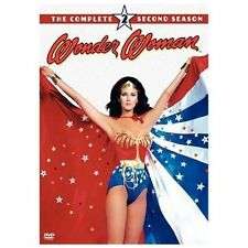 Wonder Woman - The Complete Second Season (DVD, 2005, 4-Disc Set) FREE SHIPPING