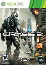 XBOX 360 SHOOTER GAME CRYSIS 2 BRAND NEW & FACTORY SEALED