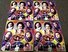 EVANESCENCE STICKERS, 4 SHEETS
