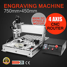 CNC Router Machine New 6040 Milling Machine with 800W Spindle Motor 4 Axis