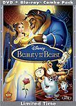 Beauty and the Beast Diamond Edition 2-Disc Blu-ray Walt Disney,with slip cover