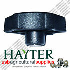 HAYTER HARRIER HAND WHEEL KNOB - GENUINE 480088 NEXT DAY DELIVERY LAWN MOWER