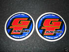 2 AUTHENTIC ROUND GT RACING BICYCLES STICKERS #16 / DECALS / AUFKLEBER
