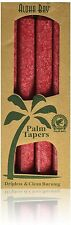 Palm Tapers Red, Aloha Bay, 4 piece