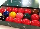 "REAL ARAMITH SNOOKER BALLS 2"" inch 10 Red Quality Premier Set Australian Seller"