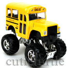 Big Foot Monster Short School Bus Truck 4x4 4