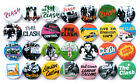 The Clash 1977-1979 Badge Set - 28 Quality Pin / Button Badges (Punk)