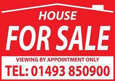 House For Sale Window Sign