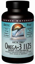 ArcticPure Enteric Coated Omega-3 1125 Fish Oil, Source Naturals, 30 gelcap
