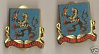 Ft. Devens Brass -PAIR Very Rare ASA Shoulder/ Cap ASATC&S Army Security Agency