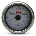 SAAS 2 5/8 WHITE FACE OIL TEMP GAUGE