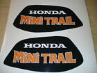 1972 Honda Z50 K3 Gas Tank Decal Set AHRMA