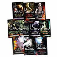 J.R.Ward Black Dagger Brotherhood Series 10 Books Collection Set Lover Reborn BN