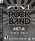 Rock Band Metal Track Pack -- Sony Playstation 3 PS3 -- CiB NM - SEE DESCRIPTION
