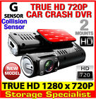 True Full HD 720P Dash DVR Car Video Camera Black Box IR Recorder Crash Cam
