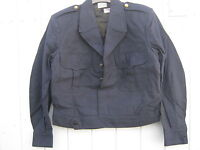 Army Surplus Ike Style French Wool Jacket 88LGM Chest Small