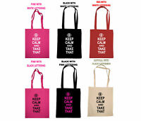 TAKE THAT KEEP CALM AND CARRY ON TOUR SHOPPING TOTE BAG BIRTHDAY GIFT BARLOW TV
