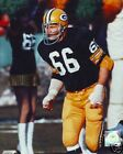 VINTAGE 8x10 Color Photo Ray Nitschke Green Bay Packers
