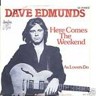 DAVE EDMUNDS PS impoert HERE COMES THE WEEKEND 1976