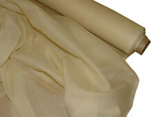 French 100% Cotton Muslin - Sheer Voile Fabric Curtain