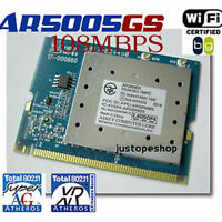 Atheros 802.11G Super G+ 108Mbps Mini PCI Wireless Card
