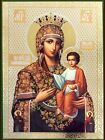 Virgin Mary and Child Madonna Christ Russian Wood Icon