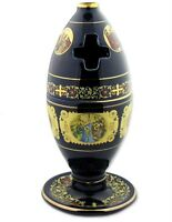 Greek Oil Lamp Incense Container 24kt Gold WOW Icons !!