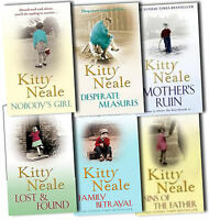 Kitty Neale Collection 6 Books Set Pack New RRP: £36.94